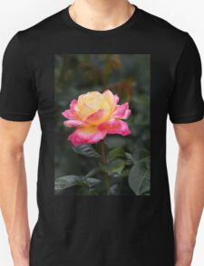 Love and Peace Rose Unisex T-Shirt
