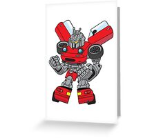 Mx5 Red JDMBot Greeting Card
