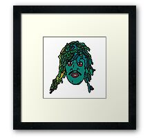 The Mighty Boosh, Old Gregg Framed Print