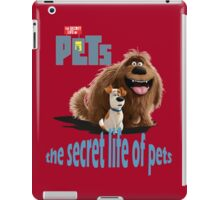 the secret life of pets  iPad Case/Skin