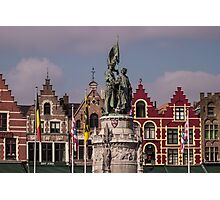 Postcard from Belgium - Travel Photography Photographic Print