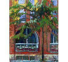 Red House in Gastown, Vancouver Photographic Print