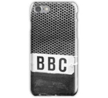 Old BBC Microphone iPhone Case/Skin
