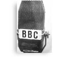 Old BBC Microphone Metal Print