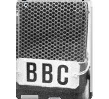 Old BBC Microphone iPad Case/Skin