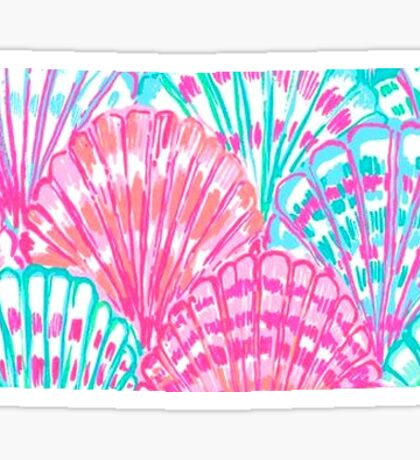 Lilly Pulitzer North Dakota State Inspired  Sticker