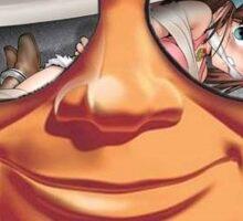 Mr.Clean - Anime Girl Sticker