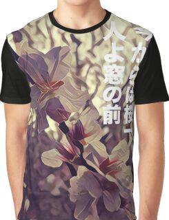 Cherry blossom solitude Graphic T-Shirt