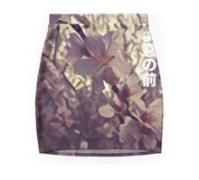 Cherry blossom solitude Mini Skirt
