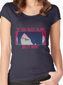 If you must...Do it now! Women's Fitted Scoop T-Shirt