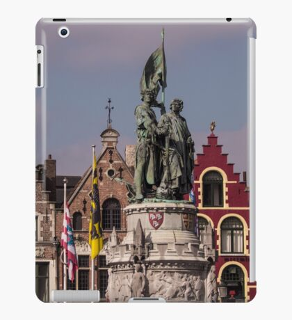 Postcard from Belgium - Travel Photography iPad Case/Skin