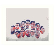 All star all in Art Print