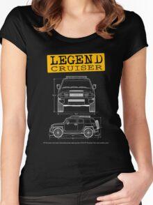 Legend Cruiser  Women's Fitted Scoop T-Shirt