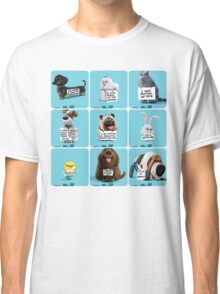 the secret life of pets & Freinds Classic T-Shirt