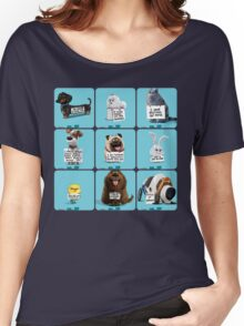the secret life of pets & Freinds Women's Relaxed Fit T-Shirt