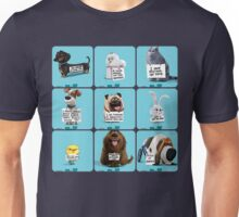 the secret life of pets & Freinds Unisex T-Shirt