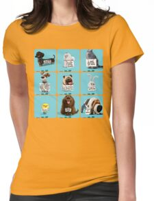 the secret life of pets & Freinds Womens Fitted T-Shirt