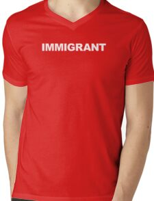 IMMIGRANT Mens V-Neck T-Shirt