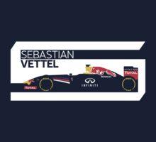 2014 Formula 1 Sebastian Vettel Race Car by ApexFibers