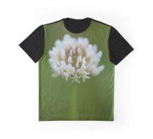 White Wildflower Graphic T-Shirt