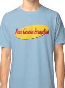 Neon Seinfeld Evangelion Classic T-Shirt