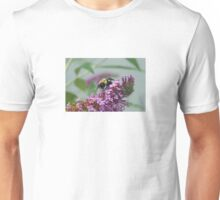 Bumblebee on the Butterfly Bush Unisex T-Shirt