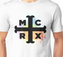 MCRX Rainbow Splatter Logo Unisex T-Shirt