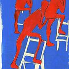 red nudes by H J Field