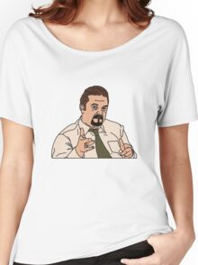 The Office UK, David Brent Women's Relaxed Fit T-Shirt