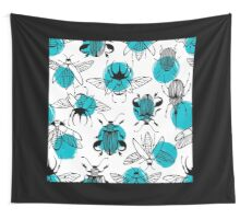 Exotic beetles Wall Tapestry
