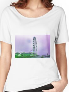 The London Eye Women's Relaxed Fit T-Shirt