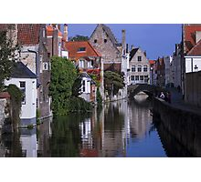 Postcard from Brugge - Travel Photography Photographic Print