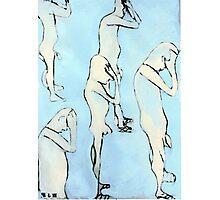 blue nude Photographic Print