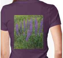 Wild Lupins, Clarenville, NL Womens Fitted T-Shirt