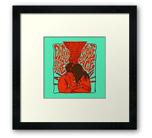 queen of the stone age Framed Print