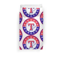 Texas Rangers Duvet Cover