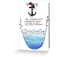 Ad inchiodare stelle... Greeting Card