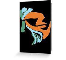 Isaac Lahey- Black Light Paint Greeting Card