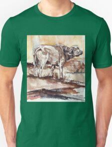 African Buffalo Unisex T-Shirt