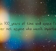 900 Years of Time and Space. by danielledoesart