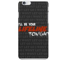 ILL BE YOUR LIFELINE TONIGHT - JUSTIN BIEBER COLD WATER iPhone Case/Skin