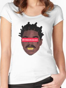 kodak black Women's Fitted Scoop T-Shirt