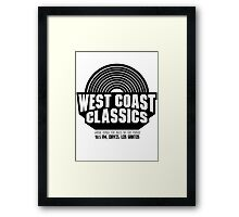 West Coast Classics Framed Print