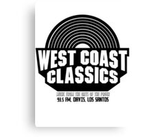 West Coast Classics Canvas Print