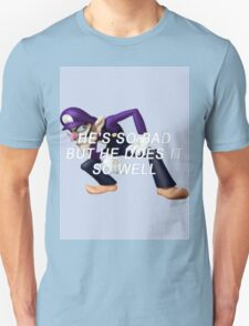 bad waluigi Unisex T-Shirt