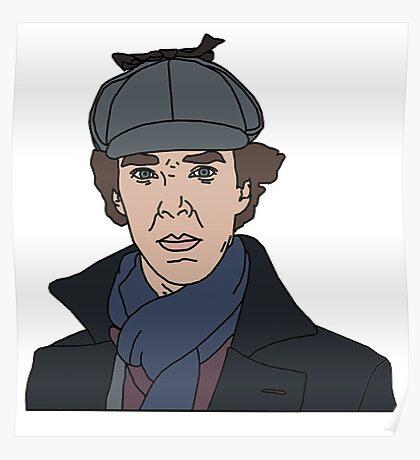 Sherlock, Benedict Cumberbatch Poster