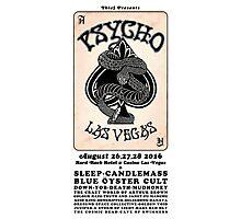 Pycho Las Vegas 2016 Photographic Print