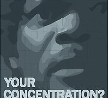 Pulp Fiction: Concentration by Badga