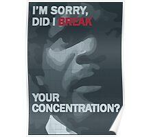Pulp Fiction: Concentration Poster