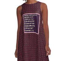 GIN A-Line Dress